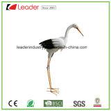 Figurine dell'uccello del metallo del giardino decorativo per la decorazione dell'interno ed esterna