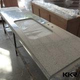 Controsoffitto della cucina personalizzato superficie solida di Kingknoree