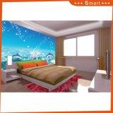 Diseño del dormitorio del niño para la pintura al óleo casera de la decoración
