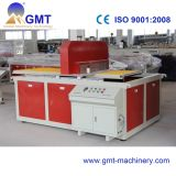 Extrudeuse en Plastique de Production de Profil D'étage de Porte de WPC Faisant la Machine