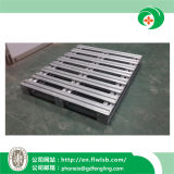 Forkfit著セリウムが付いている倉庫のための単一の表面金属パレット
