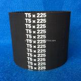 Industrieller Gummizahnriemen/synchrone Riemen T5-740 750 770 775 780