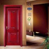 마호가니에 의하여 얼룩이 지는 단단한 코어 실내 목제 문 (GSP2-058)