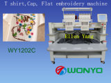 2 Kopf-Hochgeschwindigkeitsfirmenzeichen-und Zeichen-Stickerei-Maschine Wy1502c