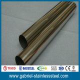 China-Lieferant 6 Zoll geschweißtes rostfreies schwarzes Rohr des Stahl-304