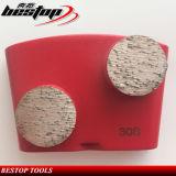 30 de Malende Schoenen van de Band van het Metaal van het gruis met Dubbele Segmenten