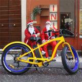26inch脂肪質のタイヤ浜の電気バイクの電気自転車Ebike