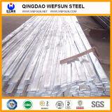 Barra plana galvanizada o no de acero de alta resistencia