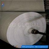 Cubierta de tierra tejida PP blanca del color