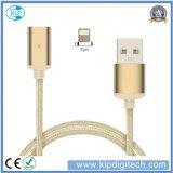Flechte Nylon-USB-Kabel-magnetisches Kabel für iPhone