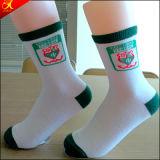 Einfache Art-Form Mittler-Kalb Schule-Mädchen-Socke