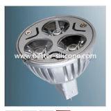 Junta del caucho de silicón usada a la iluminación del LED