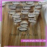 Natural Virgin Keratin Clip in Extension Hair
