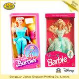 Puppe-Spielzeug, das Boxes_Cartoon Spielzeug-Puppe verpackt