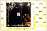 Гравировка CNC Aotomatical стеклянная