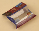 Пластичная малая коробка упаковки подарка в форме подушки (пакет PVC)