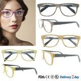 Montatura per occhiali ottica di vetro di modo di Eyewear dell'acetato Handmade