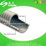 Boyau lourd spiralé d'aspiration renforcé par plastique de PVC pour l'irrigation