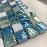 Het hete Vierkante Glas van de Verkoop en Marmer Gemengd Mozaïek (23*23mm)