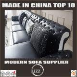 Sofá quente do couro da venda da mobília de China Lizz