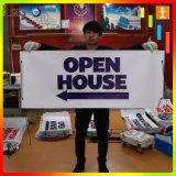 Bannière de promotion, bannière publicitaire, bannière en vinyle pour les ventes (TJ-19)