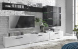 Wooden White Glossy Elegant Design TV Cabinet (HF-EY080910)