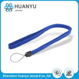 Kundenspezifisches Schlüssel-Polyester-Drucken-Abzuglinie-Seil gesponnen