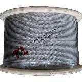 веревочка провода 7X19 нержавеющей стали 304 316 8mm