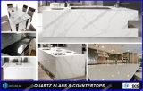 Künstlicher Quarz-Stein-feste Oberflächentisch-Oberseiten für Küche
