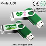 USB modificado para requisitos particulares Flash Pen Drive de Metal de USB 2.0 Flash Disk