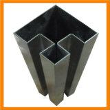 Roestvrij staal om de Enige Buis Slot/U van de Pijp