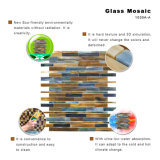 Baumaterial-Küche Backsplash dünne Buntglas-Mosaik-Fliese