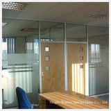 8mm Frosted/Clear Tempered/Toughened Glass Wall/Partition/Glass Door