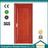 Porta de painel de madeira interior oca/sólido para o projeto