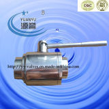 High Purity Ball Valve-Walk Cavity PTFE Sitz