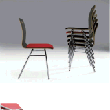 Bentwod штабелируя обедающ стул