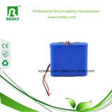 4s1p het Li-IonenPak van de Batterij 14.8V 2600mAh voor Medische Geduldige Monitor