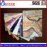 Hoja del PVC/máquina de mármol artificiales/de imitación de la protuberancia de la tarjeta