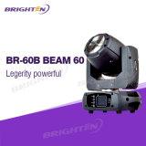 Профессиональная головка оборудования освещения полосы этапа диско DJ светлая Moving испускает лучи 60W
