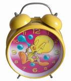 Horloge d'alarme de Bell en métal (211)