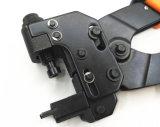 A ferramenta de friso profissional para Rg59/6 Waterproof o F-Conetor