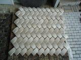 Mattonelle di mosaico di marmo bianche di Hotsale per la decorazione della parete