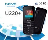 La BRI superbe de FCC de la CE de qualité de la carte SIM Sc6531d 220 duels de téléphone de caractéristique de téléphone cellulaire de téléphone mobile de Gfive 1.77 '' a délivré un certificat