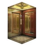 Elevador do elevador do passageiro com aço inoxidável do espelho (KJX-Z03)
