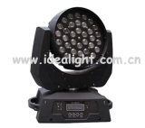 De Disco Light Moving Head van LED 36PCS*10W 4in1 RGBW Zoom Wash Stage Lighting