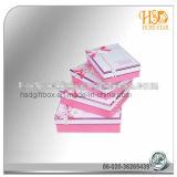 Caixa de presente extravagante recicl costume do papel do cartão