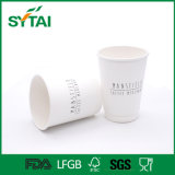 Оптовые белые обыкновенные толком бумажные стаканчики стены двойника картона для кофеего