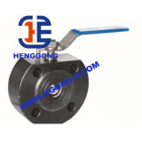 Robinet à tournant sphérique de flottement de disque de l'acier inoxydable 304 d'ANSI/API/DIN