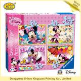 Jeu de carte de papier d'imprimerie de Papier d'emballage d'Anomia pour les enfants (JHXY-CG0007)