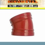 Ajustage de précision malléable à haute pression approuvé de fer de lutte contre l'incendie de FM/UL